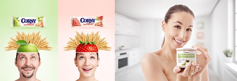 Corny | Blendea - reklamní foto