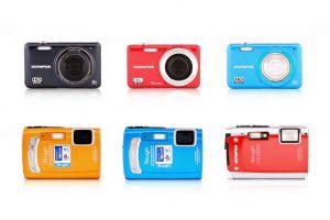 Produktové foto - foťáky