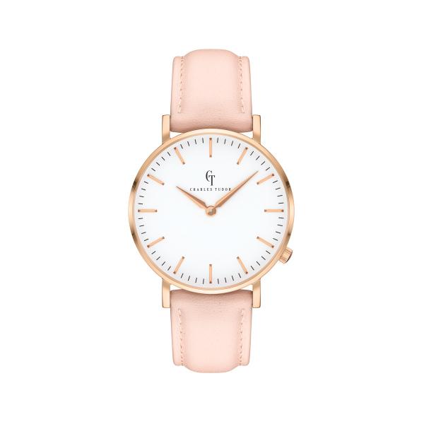 foto-eshop-hodinky-charles-tudor-hlavni-damske-gold-white-pink