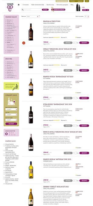 Produktové fotografie vín a olivových olejů
